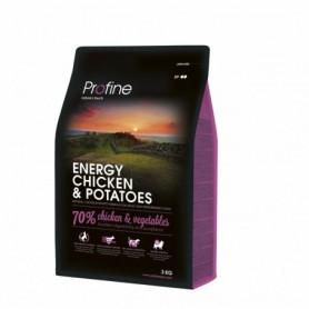 Hondenvoer Profine Adult Energy Kip & Groenten 3 kg