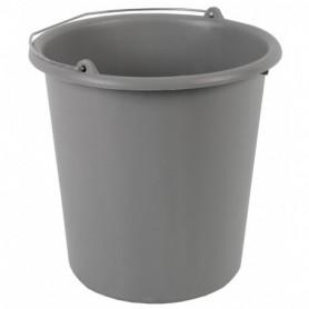 Emmer 10 liter grijs