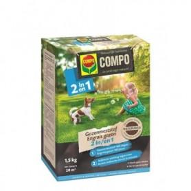 Compo Gazonmeststof 2 in 1 1,5 kg