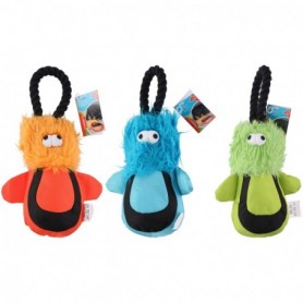 Dog toy rope 34x18x7cm 3ass