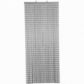 Vliegen Gordijn pvc  Grijs 100x230 cm