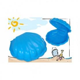 Zandbak Schelp Blauw