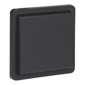 Niko Hydro WD insteek schakelaar kruisschak. 1V 10A/250V Zwart