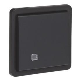 Niko Hydro WD insteek Schakelaar controleschak. 2P 10A Zwart