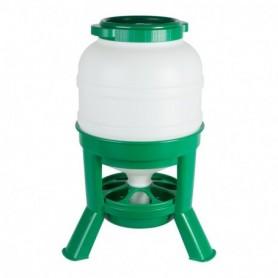 Kippenvoer Hopper 30ltr plastic Groen