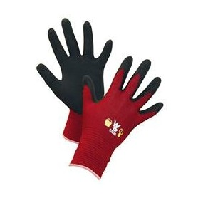 Werkhandschoen kinder Rood MT 4-6 jaar