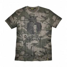 T-shirt Terrax workwear 4410-oliv camouflage/schwarz XL