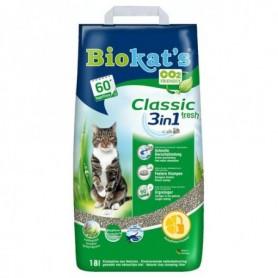 Kattenbakvulling Classic fresh 3in1 18l