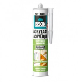 Kit Bison Acrylaatkit Wit 310 ml Koker