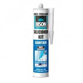Kit Bison Siliconenkit Sanitair Pergamon 310 ml