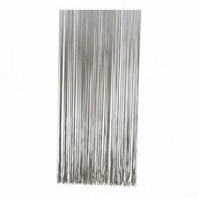 Vliegengordijn Spagettie Grijs 100x230