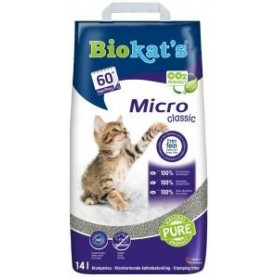 Kattenbakvulling Biokat's Micro Classic 14 Liter