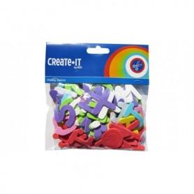 Knutsel Create-It Foam letters 104 stuks