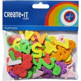 Create-It Foam cijfers 100 stuks