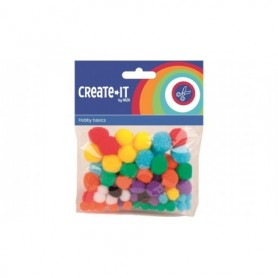Knutsel Create-It Pom poms
