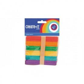 Knutsel Create-It stokjes 50 stuks