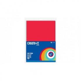 Knutsel Create-It Foam assorti 10 vel A4