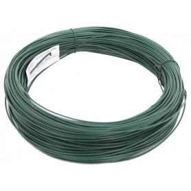 Draad Gladdedraad geplastificeerd Groen 3,1 mm 110 meter