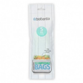 Brabantia afvalzak compost 6 liter (S) 10 stuks