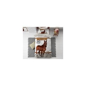 speelgoed Horse Riding Brown 135 x 200 Bruin