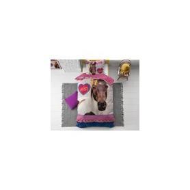 speelgoed Love Horse Pink 135 x 200 Roze