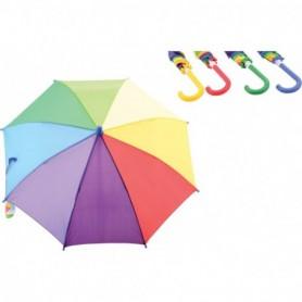 Regenboog paraplu 4 assorti