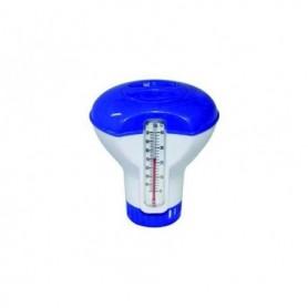 Zwembad Chloordrijver klein Met Thermometer