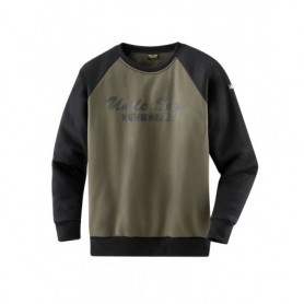 Truien 80480 Herren Sweatshirt 4410-oliv/schwarz XL