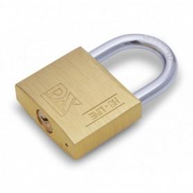Hangslot DX HS dubbel vergrendeld sleutelnummer 251 25 mm