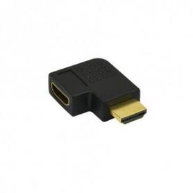 Kabel Adaptor HDMI male- female  rechts