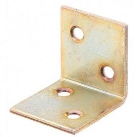 Verbinders Versterkinghoek gelijk Verzinkt Geel 60x60x60