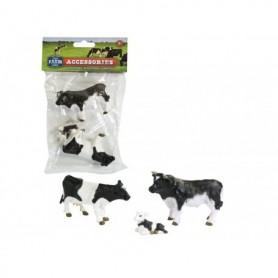 Speelgoed Dutch farm Serie set koe,kalf,stier