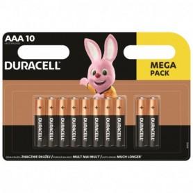 Batterijen Duracell Megapack AAA 10 Stuks