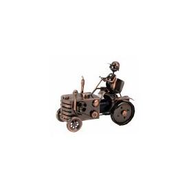 decohome Wijnfleshouder tractor